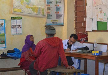 WASH in Health Post with OTP Centers