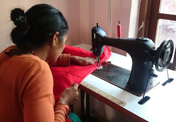 Livelihood Support for the IDP women from the camps